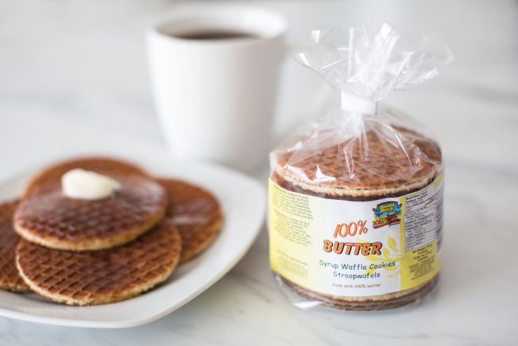 Double Dutch Butter Flavoured Syrup Waffles - Echte Roomboter Stroopwafels